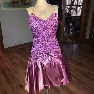 VINTAGE 80's BARBIE prom dress